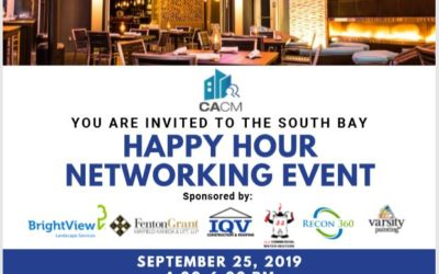 CACM Happy Hour Networking Event